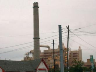 Picture of an incineration plant